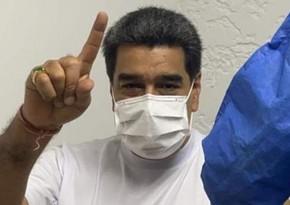 Мадуро привился вакциной Спутник V