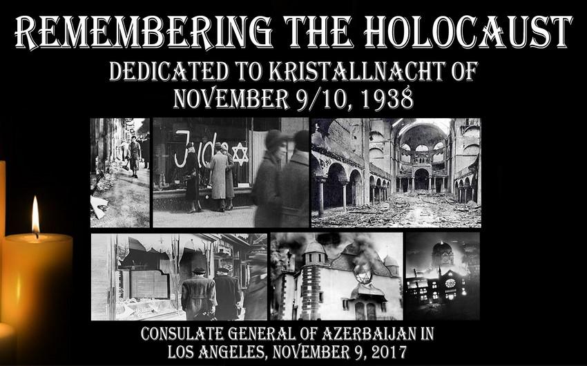 Генконсульство Азербайджана в Лос-Анджелесе провело мероприятие, посвященное Холокосту и Ходжалинскому геноциду
