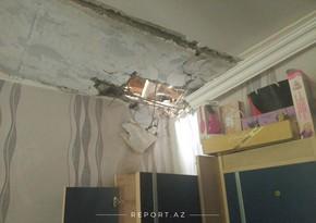 House in Goranboy region destroyed by Armenian shell