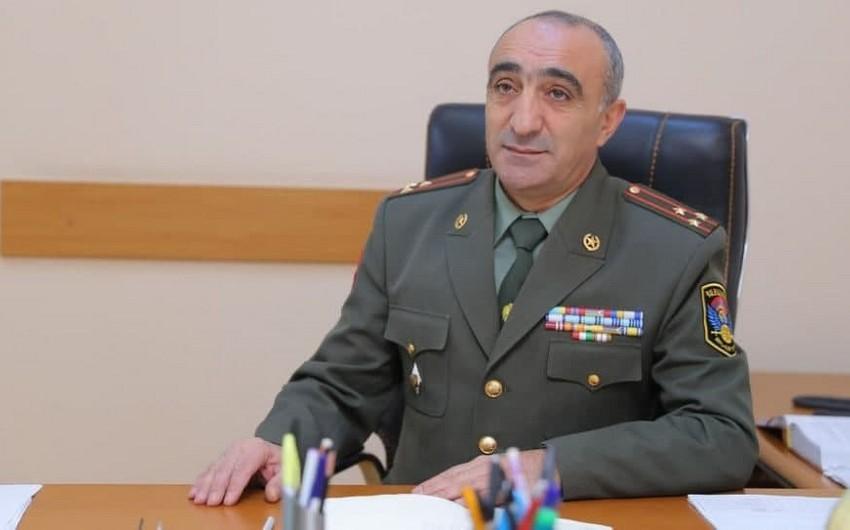 Ermənistan Baş Qərargahının əməliyyat idarəsinin rəis müavini işdən çıxarılıb