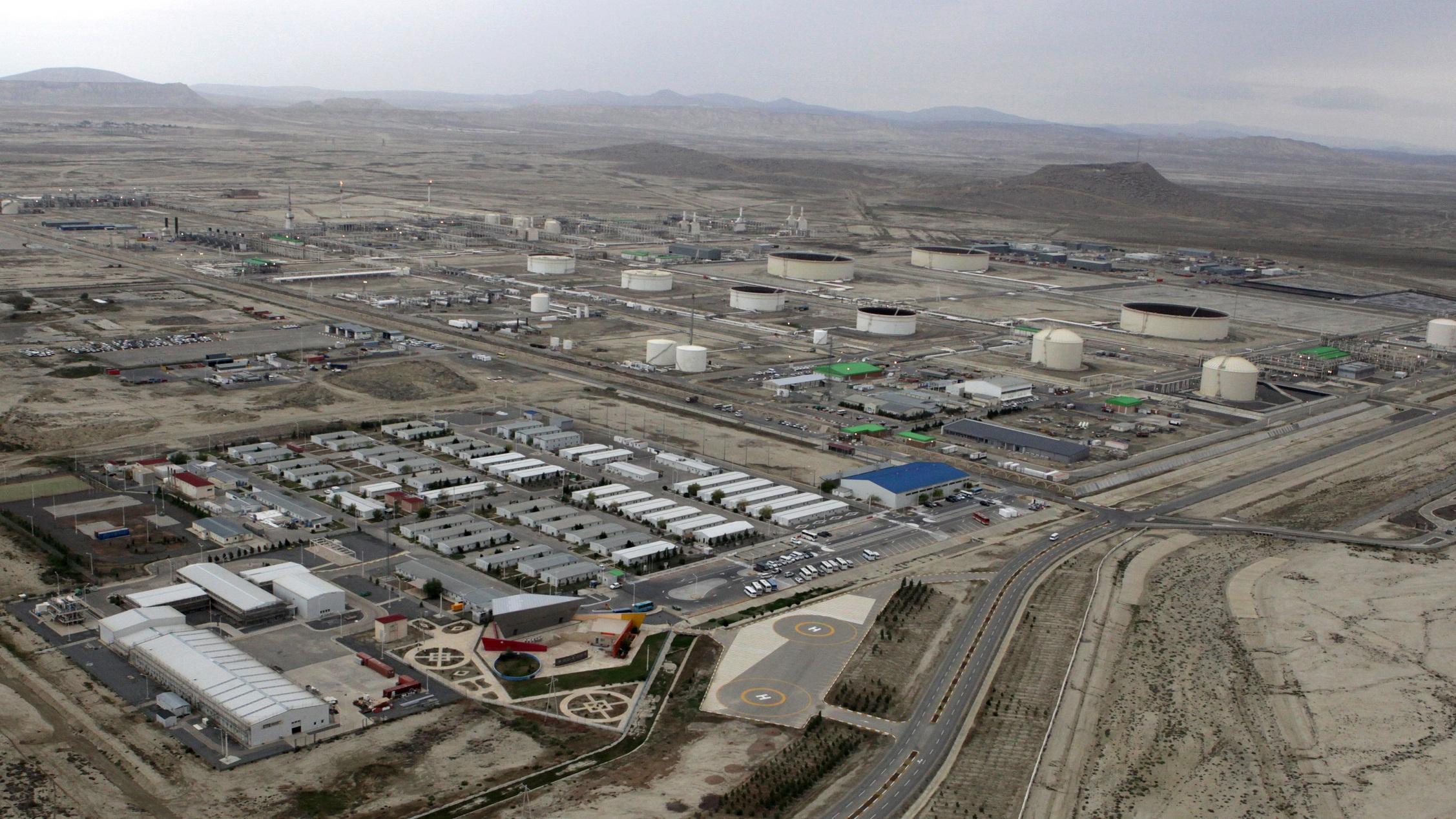 Ötən il Səngəçal terminalından 287 mln. barel neft və kondensat ixrac edilib