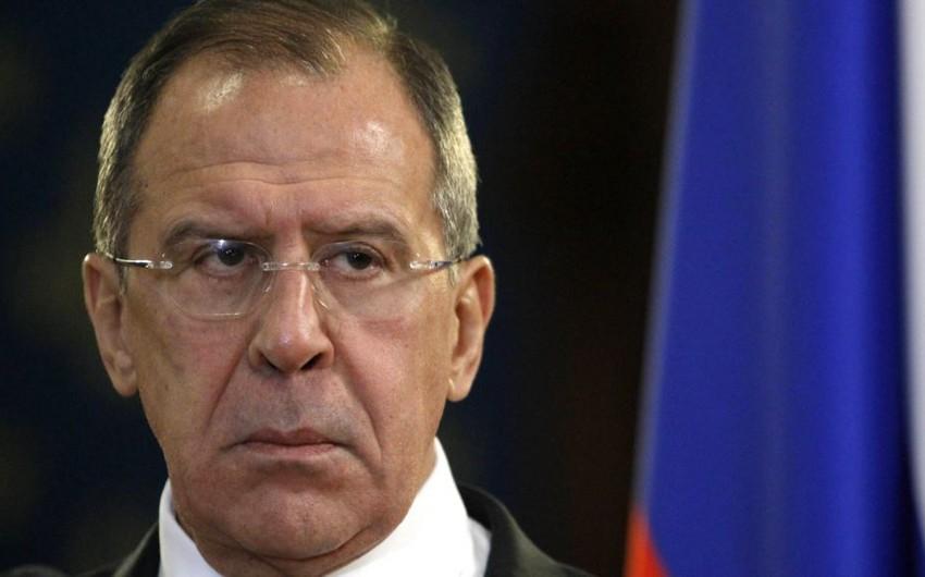 Lavrov: Yeni sanksiyalar Rusiya-ABŞ münasibətlərini poza bilər