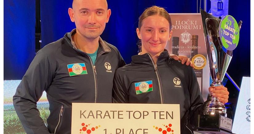 Azərbaycan karateçisi beynəlxalq turnirin qalibi oldu