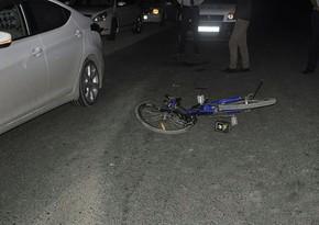 В Бинагадинском районе сбили велосипедиста
