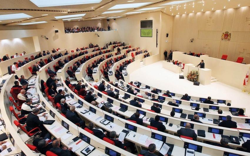 Gürcüstanda daha bir deputat parlament çoxluğunu tərk edib - YENİLƏNİB