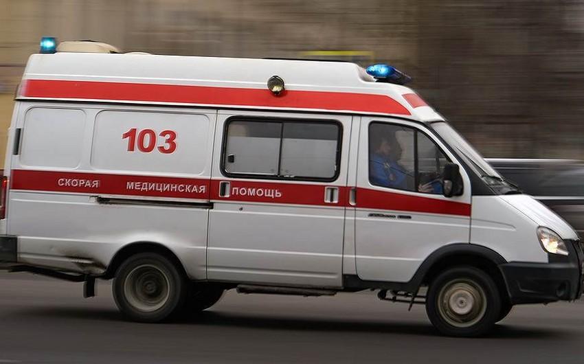 Moskva-Bakı marşrutu ilə hərəkət edən avtobus qəzaya uğrayıb, 8 Azərbaycan vətəndaşı xəsarət alıb