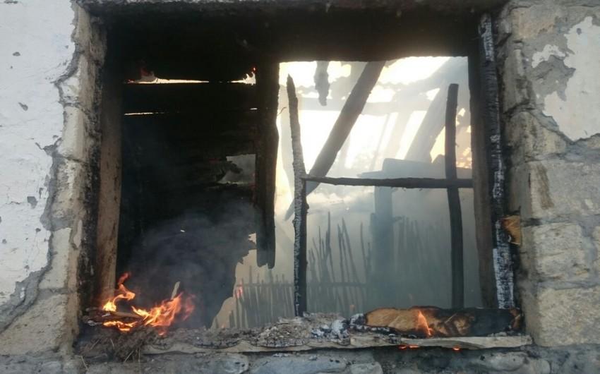 FHN Qaxda fermada baş vermiş yanğınla bağlı rəsmi məlumat yayıb