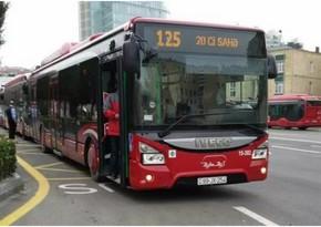 Bakıda iki avtobus toqquşub, 7 nəfər xəsarət alıb