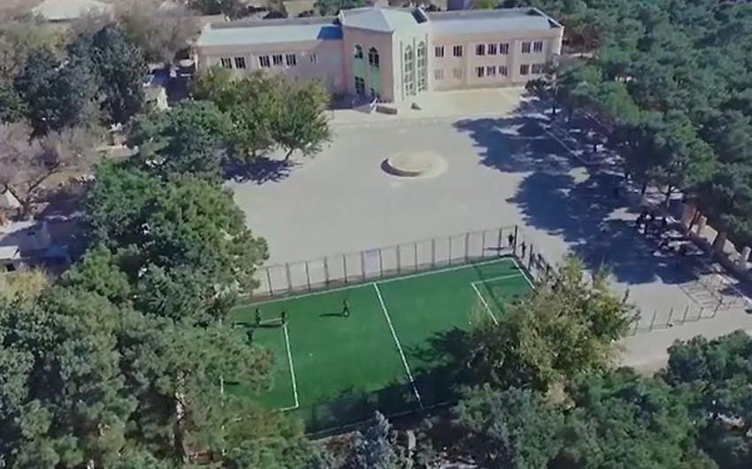 AFFA Türkan qəsəbəsində futbol meydançası istifadəyə verib - VİDEO