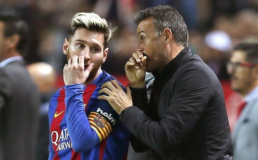 Месси не вышел на тренировку Барселоны после критики Луиса Энрике