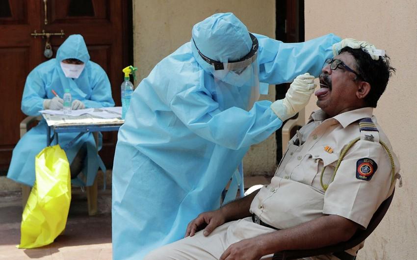 Hindistanda koronavirusa yoluxmada yeni rekord qeydə alınıb