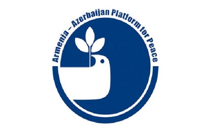"""""""The Caucasus Interface"""" təşkilatı """"Ermənistan Azərbaycan Sülh Platforması"""" ilə birgə əməkdaşlığa dair razılığa gəlib"""
