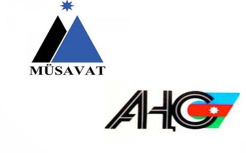 AXCP ilə Müsavat Partiyası arasında yeni qalmaqal yaranıb