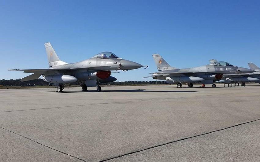 Rumıniya Portuqaliyadan F-16 qırıcı təyyarələri alıb - FOTO