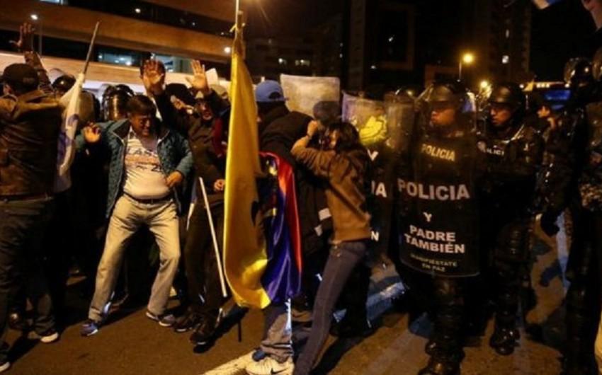Ekvadorda Lenin Morenonun seçkilərdə qalib gəlməsindən sonra etirazlar baş qaldırıb