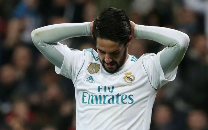 Real Madridin futbolçusu baş məşqçi ilə münaqişə səbəbindən Roma ilə matçda iştirak etməyib