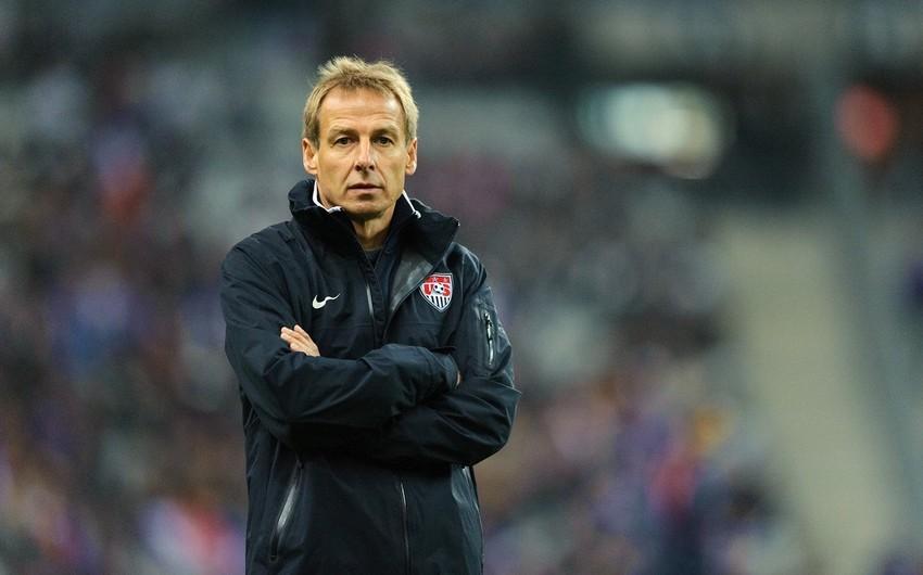 ABŞ millisinin baş məşqçisi Yurgen Klinsmann istefaya göndərilib
