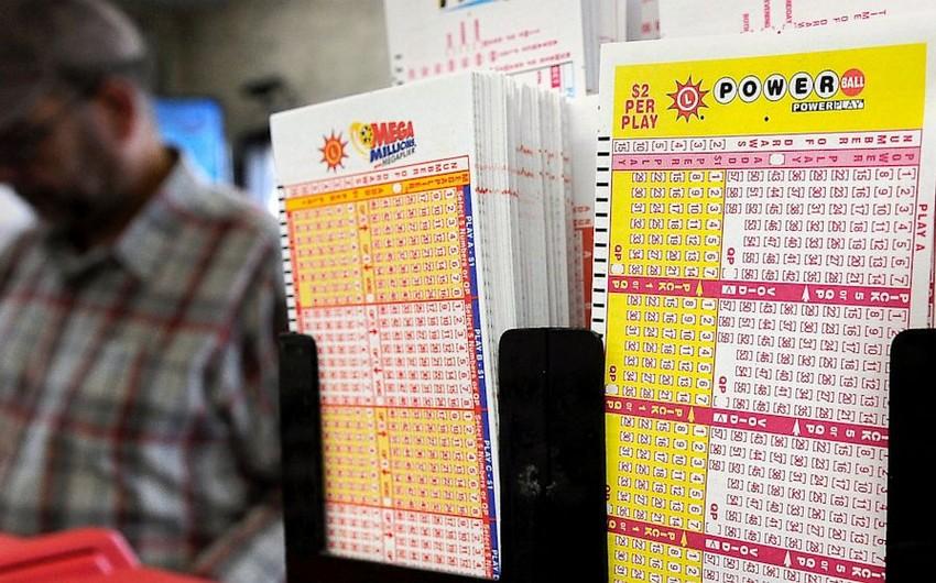 ABŞ-da 1,5 milyard dollarlıq cekpotla uduşlu lotereya bileti satılıb