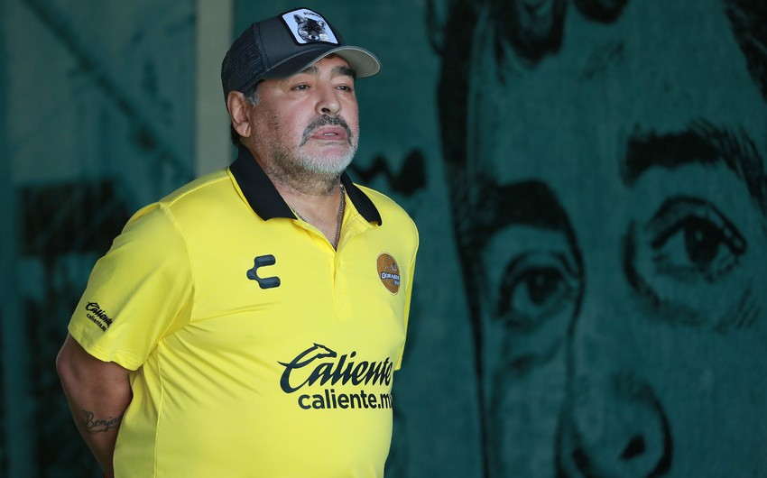 Maradona ilə vida mərasimi Prezident Sarayında keçiriləcək