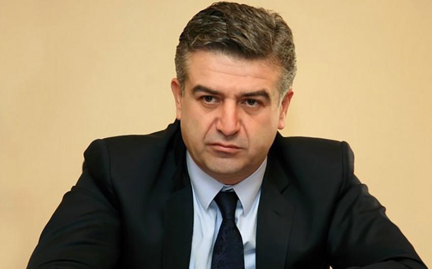 KİV: Ermənistanın baş naziri daşnakların hökumətdə təmsil olunmasını istəmir
