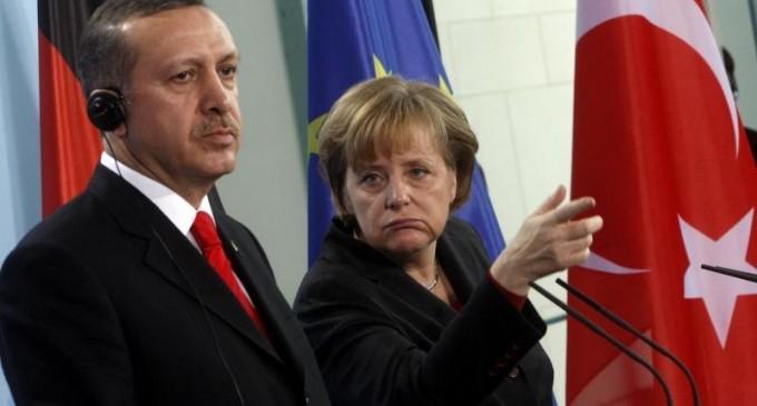 Меркель не видит Турцию в составе Евросоюза