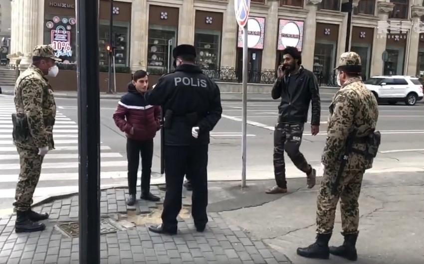 Bakıda xüsusi karantin rejiminə necə riayət olunur? - VİDEO