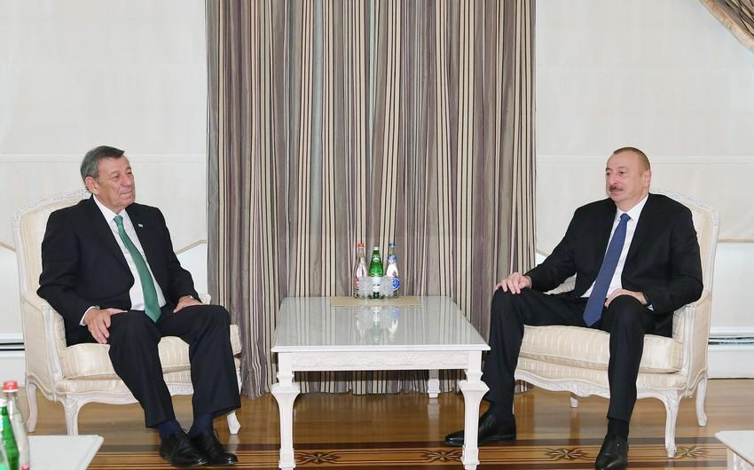 Prezident İlham Əliyev Uruqvayın Xarici İşlər nazirini qəbul edib