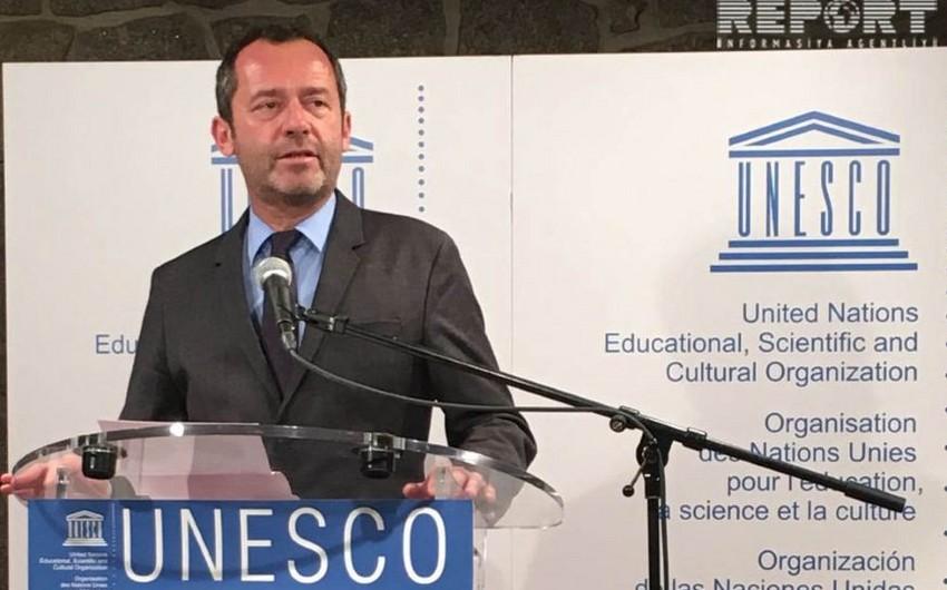 """UNESCO rəsmisi: """"Azərbaycan tolerantlıq dəyərlərinə sadiq bir ölkə olduğunu dəfələrlə göstərib"""""""