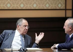 Çavuşoğlu və Lavrov da Dağlıq Qarabağla bağlı fikir mübadiləsi apardılar