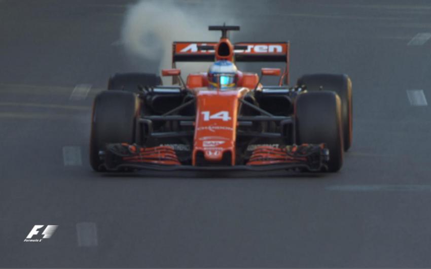 Formula 1: Fernando Alonso ikinci sərbəst yürüşü yarımçıq dayandırıb
