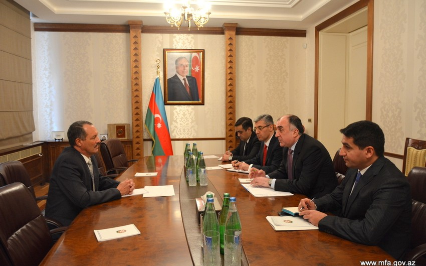 Cuban ambassador presents credentials to Azerbaijani Foreign Minister