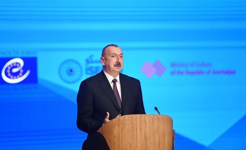 Президент Азербайджана: Азербайджан проводит политику, основанную на взаимопонимании и сотрудничестве