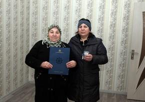 30 семей шехидов и инвалиды Карабахской войны получили квартиры