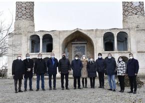 İtaliya parlamentinin deputatları Ağdama səfər etdilər