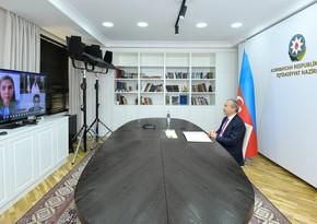 İqtisadiyyat naziriİslam İnkişaf Bankı Qrupunun Prezidenti ilə görüşüb