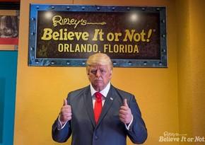 В музее Техаса из-за повреждений убрали восковую фигуру Трампа