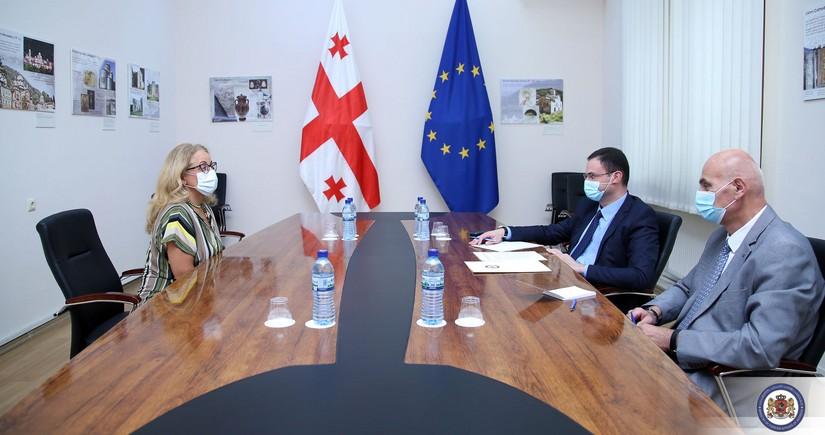 Turkish ambassador mulls regional cooperation with Georgian Deputy FM