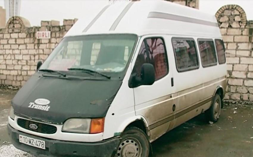 Qış rejiminə uyğun olmayan avtobuslar cərimə meydançasına aparılır