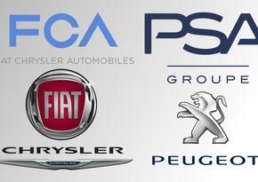 """""""Peugeot"""" ilə """"Fiat Chrysler""""in birləşməsi təsdiqləndi"""