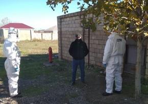 Şabranda evlərini tərk edən koronaviruslu xəstələr saxlanıldı