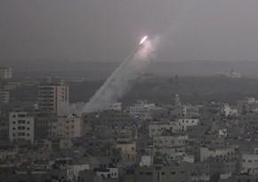 İsrail ordusu Qəzza zolağından atılan iki raketi zərəsizləşdirdi