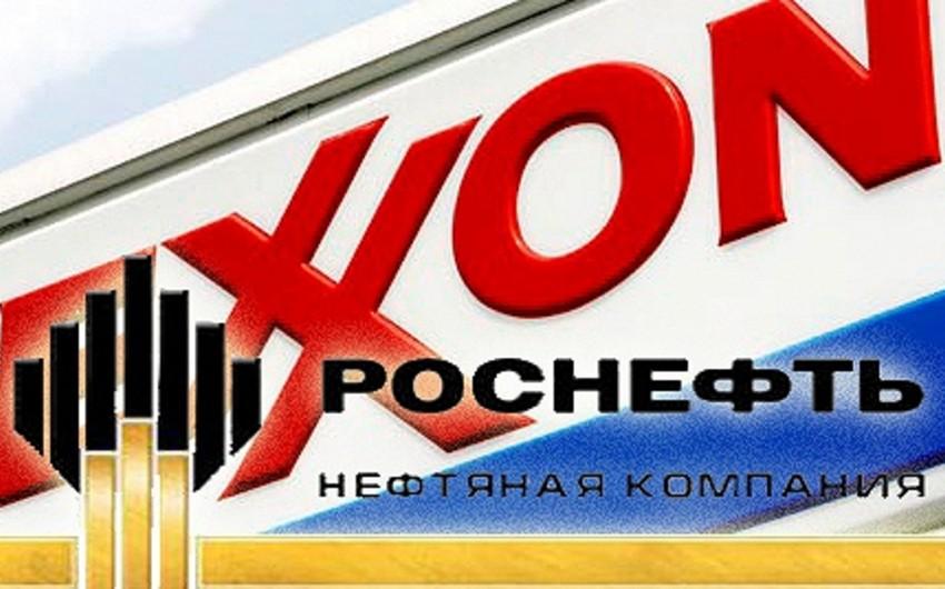 """""""Rosneft"""" və """"ExxonMobil"""" ilin sonuna kimi Meksika körfəzindəki lisenziyalarını qaytaracaq"""