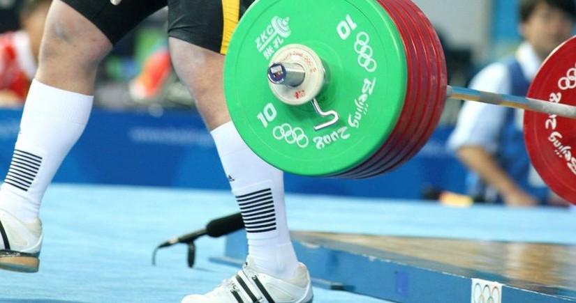 Russian weightlifting champion A. Maskhadova disqualified for eight years
