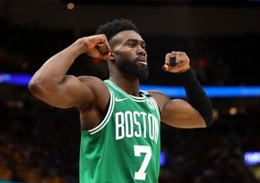 Celtics' Jaylen Brown makes NBA history: 33 points in record time