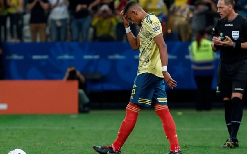 Kolumbiya yığmasının futbolçusu ölüm təhdidi ilə üzləşib