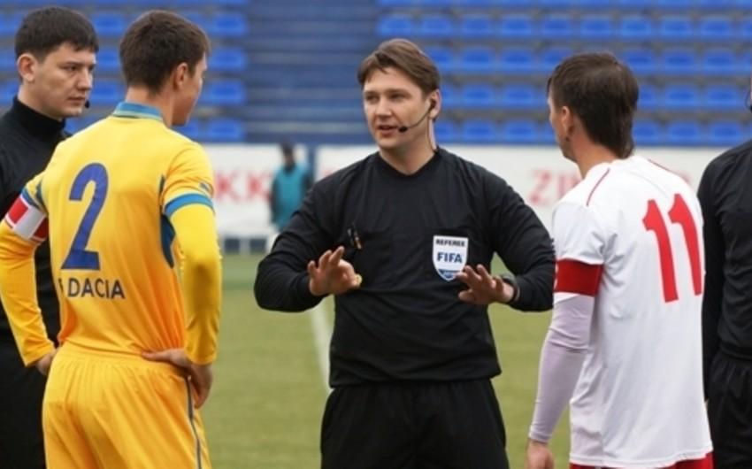 Moldovada futbol hakimi bir oyuna görə ömürlük cəzalandırılıb