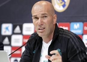 Real Madridin baş məşqçisindən istefa açıqlaması