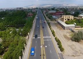 Hacıqabul-Muğan avtomobil yolu yenidən qurulub