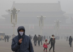 Air pollution in Beijing is 8 times higher than normal