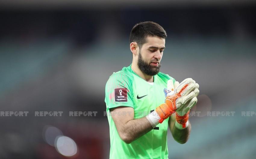 Azərbaycan millisinin qapıçısı: Rəqibin heyətində güclü futbolçular var